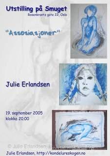 Brosjyre for utstilling på Smuget