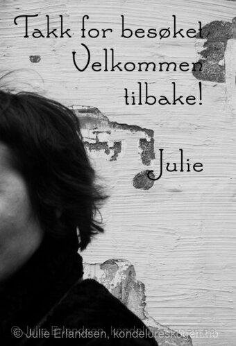 Julie med tekst